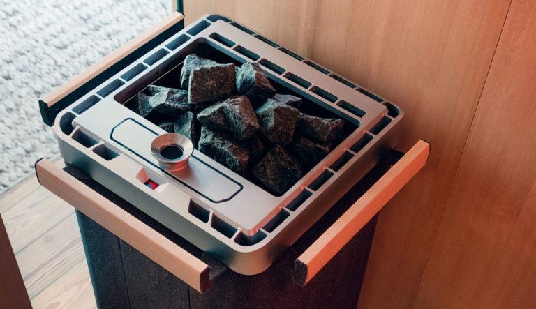 Peč za savno turbo Majus - možnost sanariuma