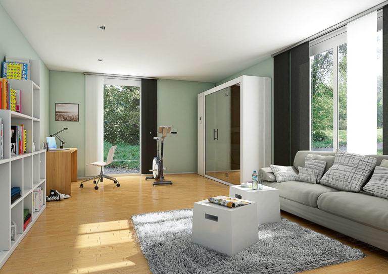 S1 zložljiva savna doma dnevna soba zaprta savna