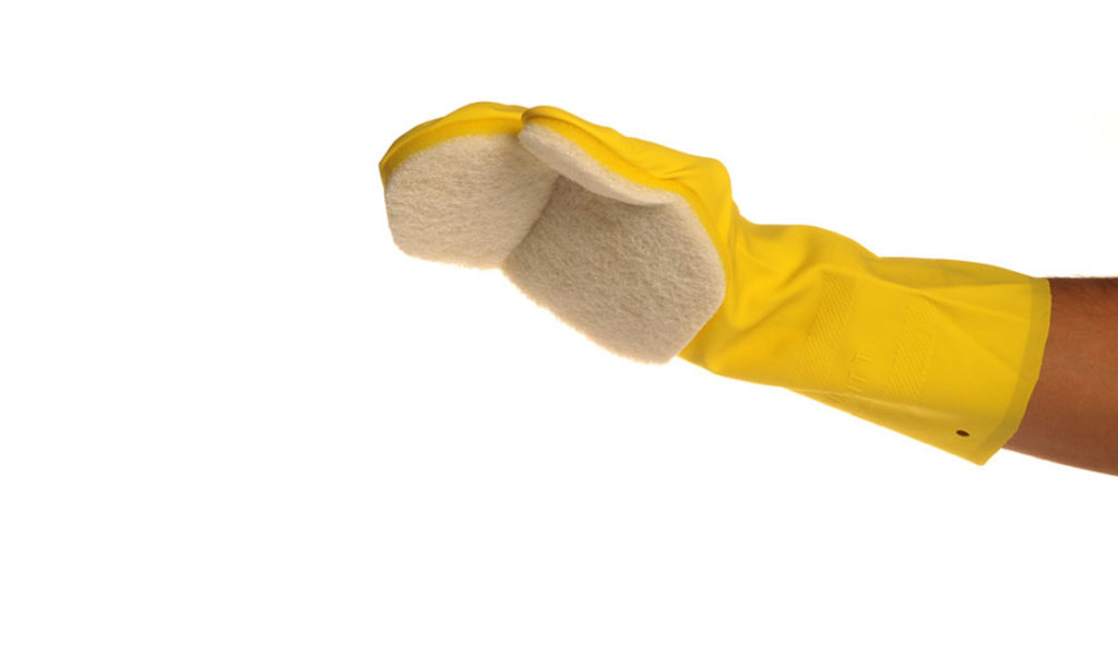 Čistilna rokavica za jacuzzi Softub