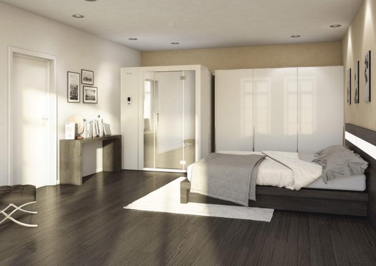 S1 zložljiva savna doma spalnica odprta savna