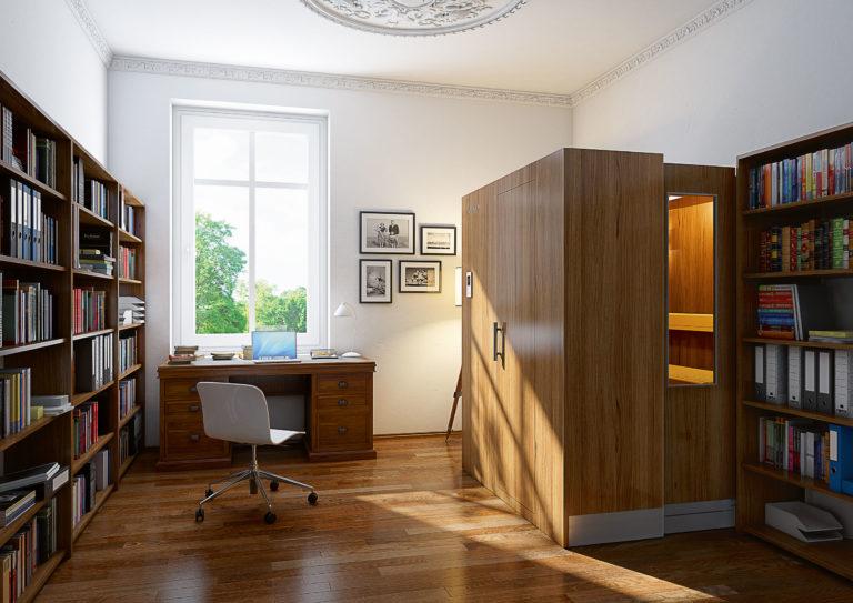 S1 zložljiva savna doma pisarna odprta savna