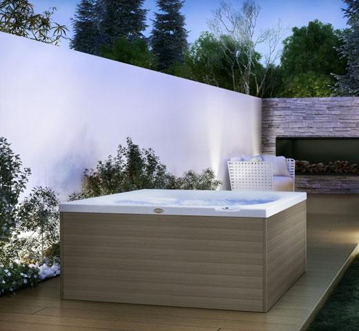 Jacuzzi CitySpa na terasi z razgledom